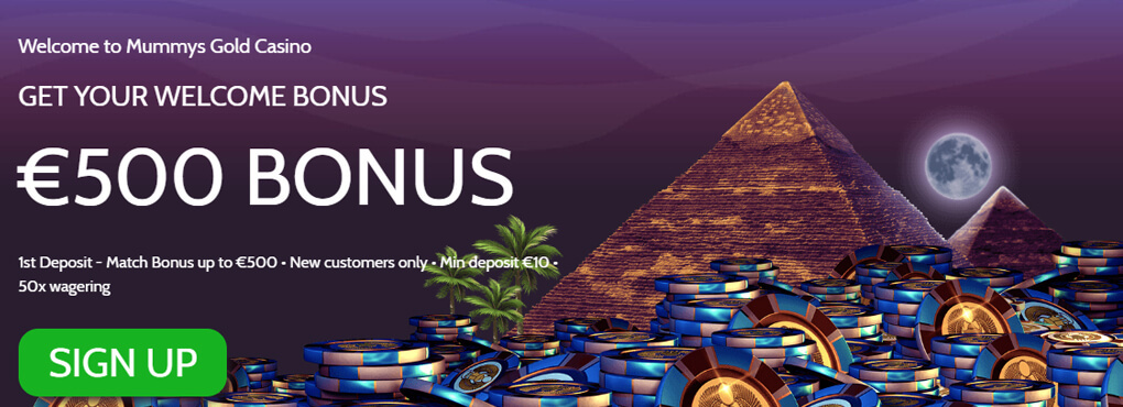 MUMMY'S GOLD CASINO – The Online Gaming