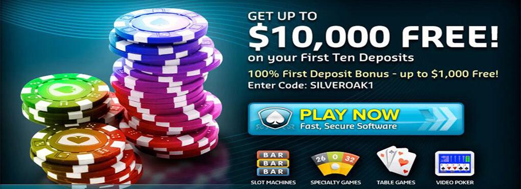 Crazy Days Bonuses at Silver Oak Casino
